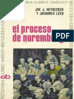 El Proceso de Nuremberg - Joe J Heydecker y Johnnes Leeb