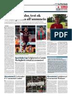 La Provincia Di Cremona 17-08-2017 - Serie B