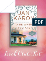 To Be Where You Are Book Club Kit