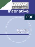 Contabilidade Internacional Apostila UNIP INTERATIVA