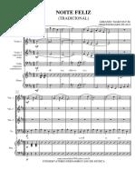 Noite Feliz (Score)