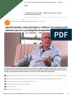 """Agustín Squella, Entre Príncipes y Villanos_ """"en Nuestro País Subsisten Graves y Prolongadas Desigualdades"""" - El Mostrador"""