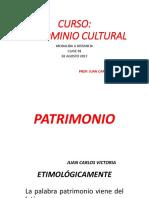 CLASE 01 PATRIMONIO CULTURAL