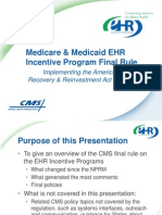 CMS EHR Incentive Program Agency Training v8-20