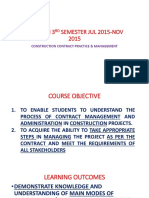construction contract practice and management
