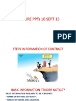 Presentation on steps in formation of contract