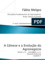 Genesis and Evolution of Agrobusiness