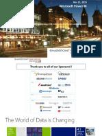 SharePointSaturdayOttawa-PowerBI