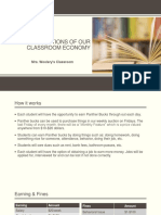 rules   regulations of our classroom economy