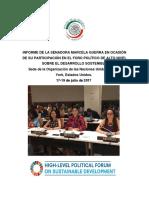 19-07-17 Informe de La Senadora Marcela Guerra