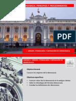 Democracia principios y procedimientos 1