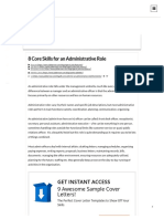 8 Core Skills for an Administrative Role _ Jobberman