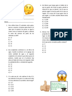 practica de razonamiento matematico