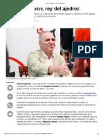 Garry Kasparov, Rey Del Ajedrez