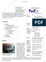10_FedEx related information