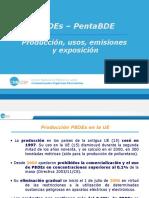 Producción, Usos, Emisiones y Exposición de PBDEs_PentaBDE