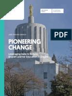 EL Reform Oregon