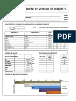 P1INSOP004 V01 Diseño de Mezcla de Concreto