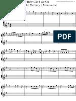 How Can i Go on Freddie Mercury - Violino