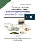 "White Paper on ""High Antennas for"
