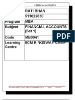 MB0041 Accounts Assingment Final
