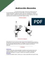 Armas de Destrucción Discursiva