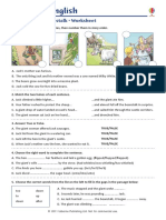 Jack and the Beanstalk Worksheet