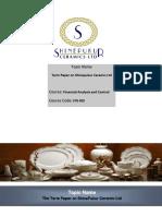 Term Paper SP Ceramics