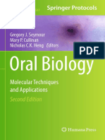 Oral Biology - Molecular Techniques and Applications.pdf