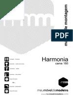 Cama Queen Size Harmonia - Caramelo