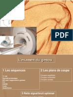 Pathologie Du Genou en IRM