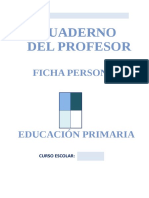 Ficha Personal Lomce Primaria