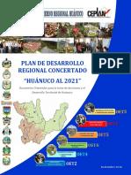 Plan de desarrollo Regional Concertado Huanuco