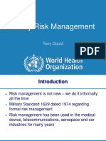 Qualiy Risk Management