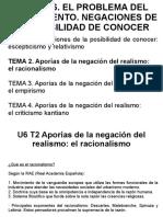 U6 T2 El Racionalismo