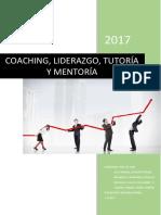Coaching, liderazgo, tutoría y mentoría - Monografía