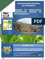INFORME FINAL PPP PATAMBUCO 2017 -  IMPRIMIR.pdf