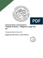 Derecho Procesal en el ámbito de la Traducción Pública - Principios Procesales