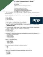 Balotario i Parcial Der Administrativo 06junio2017 Modificado