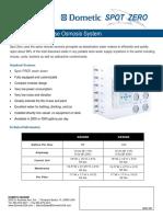 Spot Zero Product Sheet