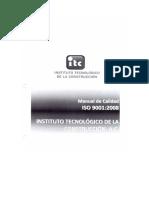 Manual de Calidad Itc