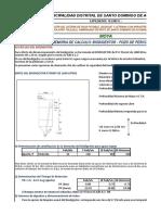 Cálculo Biodigestor y Pozo Percolador