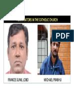 MICHAEL PRABHU CRIMINAL Case for Crimes Against the Catholic Church and HSI