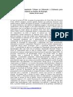 Aplicação Da Computação Ubíqua Na Educação a Distancia Para Elucidação Da Fotossíntese No Ensino de Biologia.