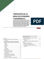 Mesa de trabajo economia 2016