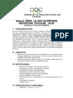 Bases Generales DMP 2016