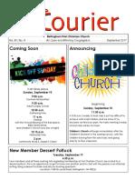 September 2017 Courier
