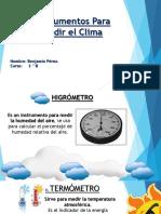 Instrumentos Para Medir El Clima