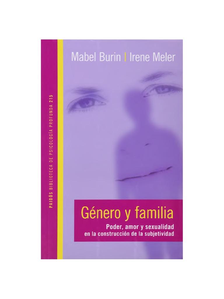 Burin Mabel Y Meler Irene - Genero Y Familia d3d863662619