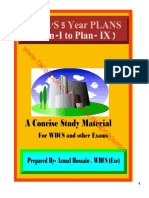 5 year Plans Of India . (Pan1- to Plan-9 ), a study materials for WBCS.pdf